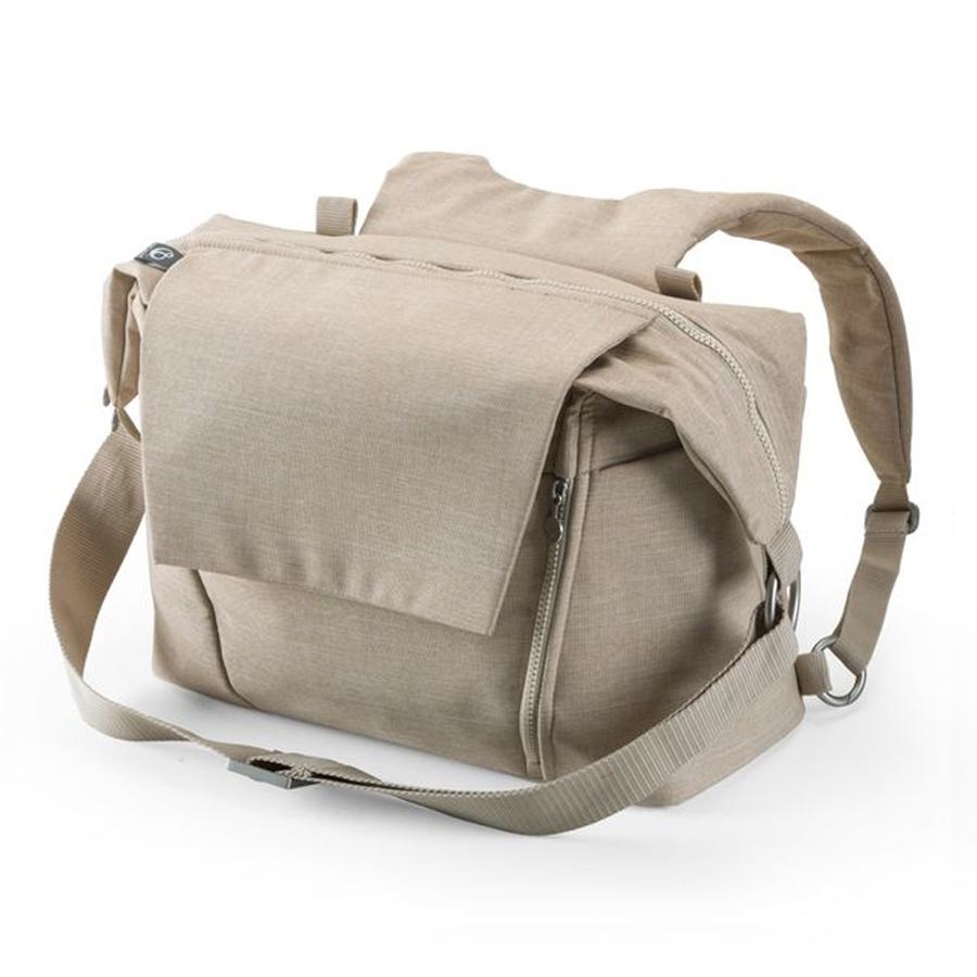 Купить со скидкой Сумка для мамы Changing Bag, beige melange Stokke