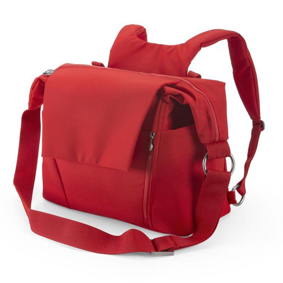 Сумка Stokke для мамы Changing bag Red