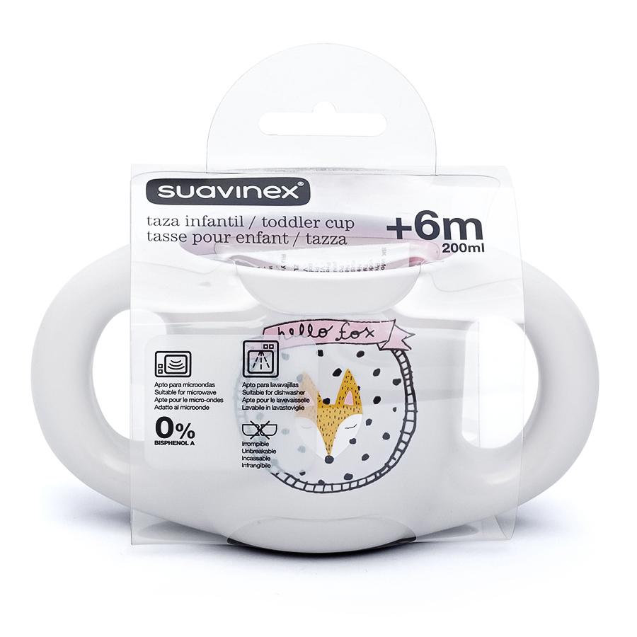 Чашка Suavinex 200 мл, от 6 месДетская посуда и бутылочки<br><br>