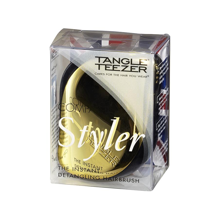 Расческа Tangle Teezer  Сompact Styler Gold RushРасчески детские<br><br>