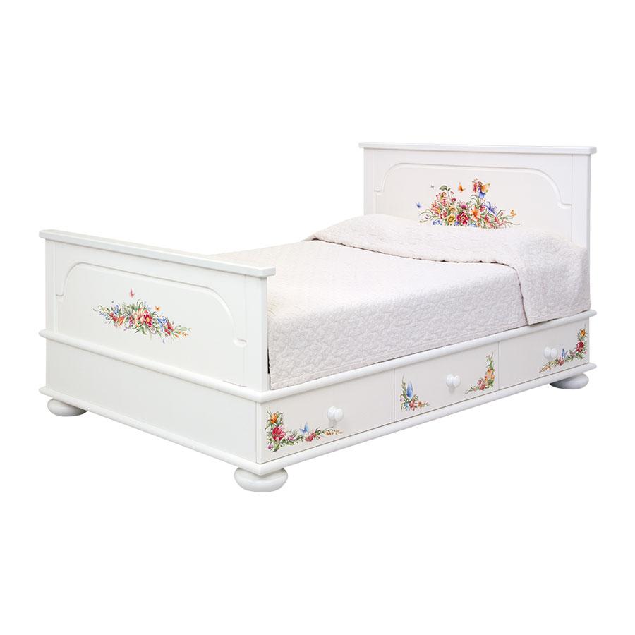 Подростковая кровать с ящиками Woodright Willie Winkie FairiesКровати для подростков<br><br>