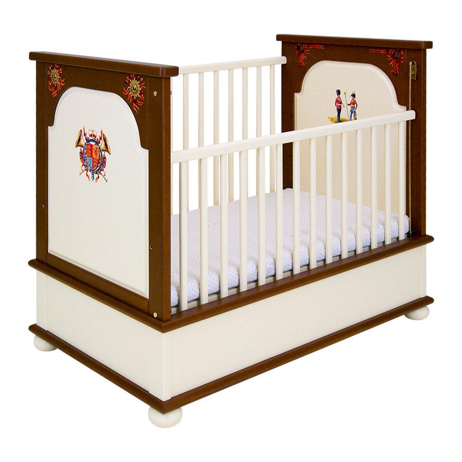 Кроватка для новорождённого Woodright Willie Winkie Royal GuardsmenКровати для новорождённых<br><br>