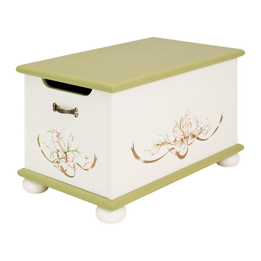 Ящик Woodright Willie Winkie Royal Lilies  для игрушекЯщики для игрушек<br><br>