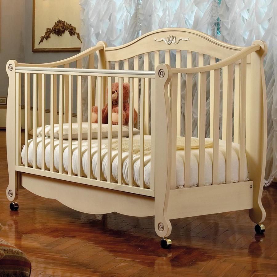Кровать коллекция Rigoletto (цвет слоновая кость)Кровати для новорождённых<br><br>