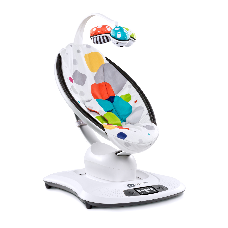 Кресло 4moms MamaRoo качалка мульти плюшУкачивающие центры<br><br>
