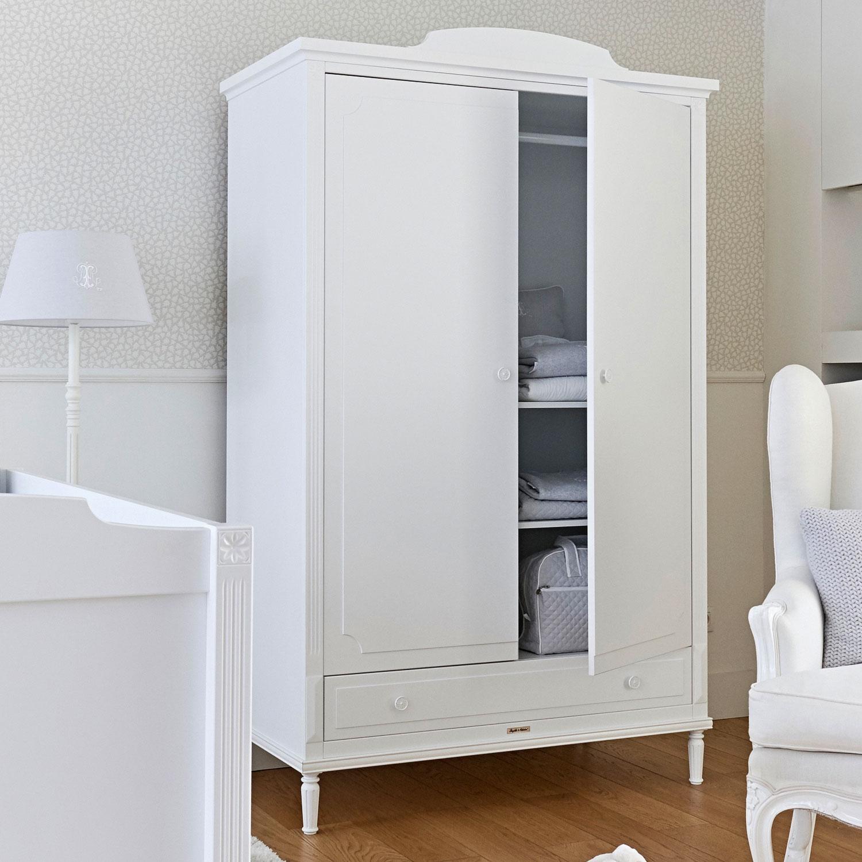 Шкаф 2х створчатый коллекция Louis, белыйШкафы, стеллажи<br><br>