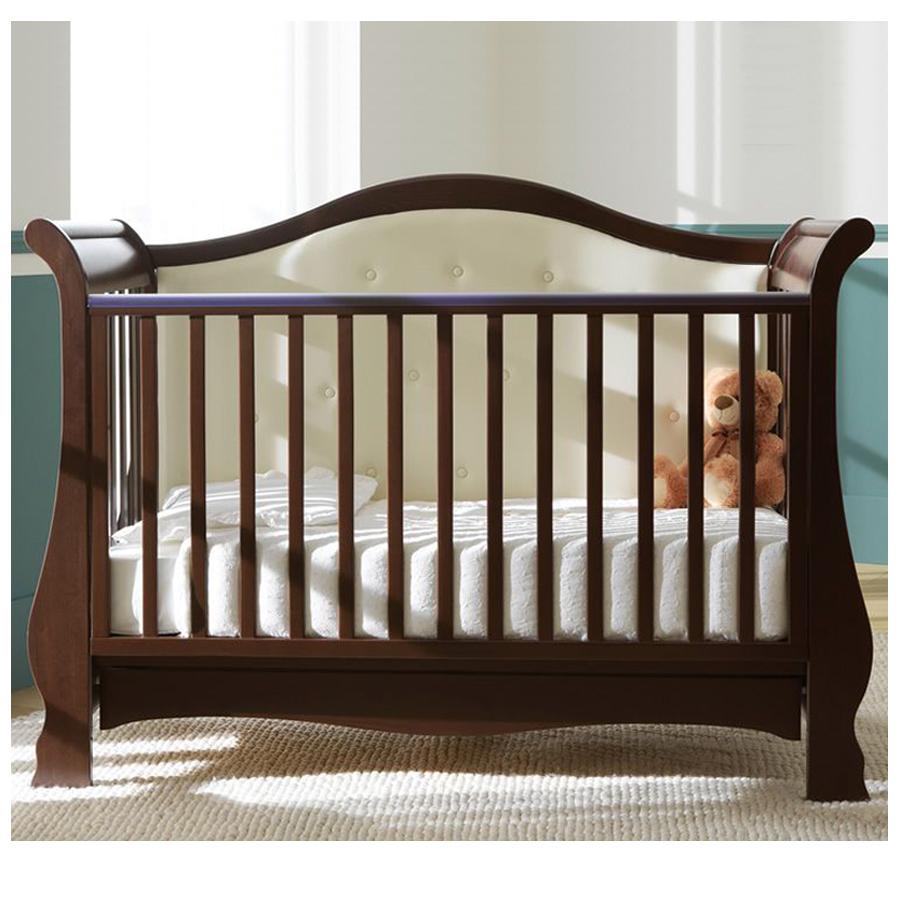 Кровать Pali Vittoria темный орехКровати для новорождённых<br><br>