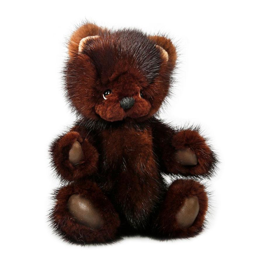 Сувенир Carolon Медведь коричневый с нарисованными лапками, 24смМягкие игрушки<br><br>