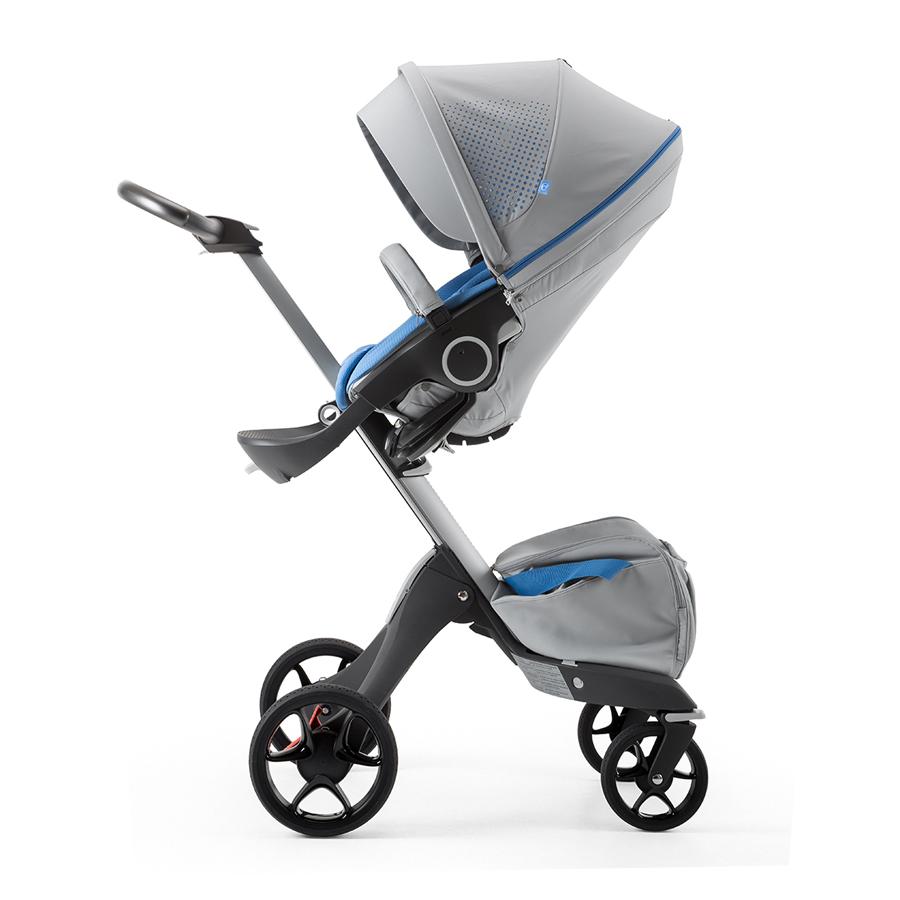 Коляска Stokke Xplory 2 в 1 V5 Athleisure MarinaКоляски для новорожденных<br><br>