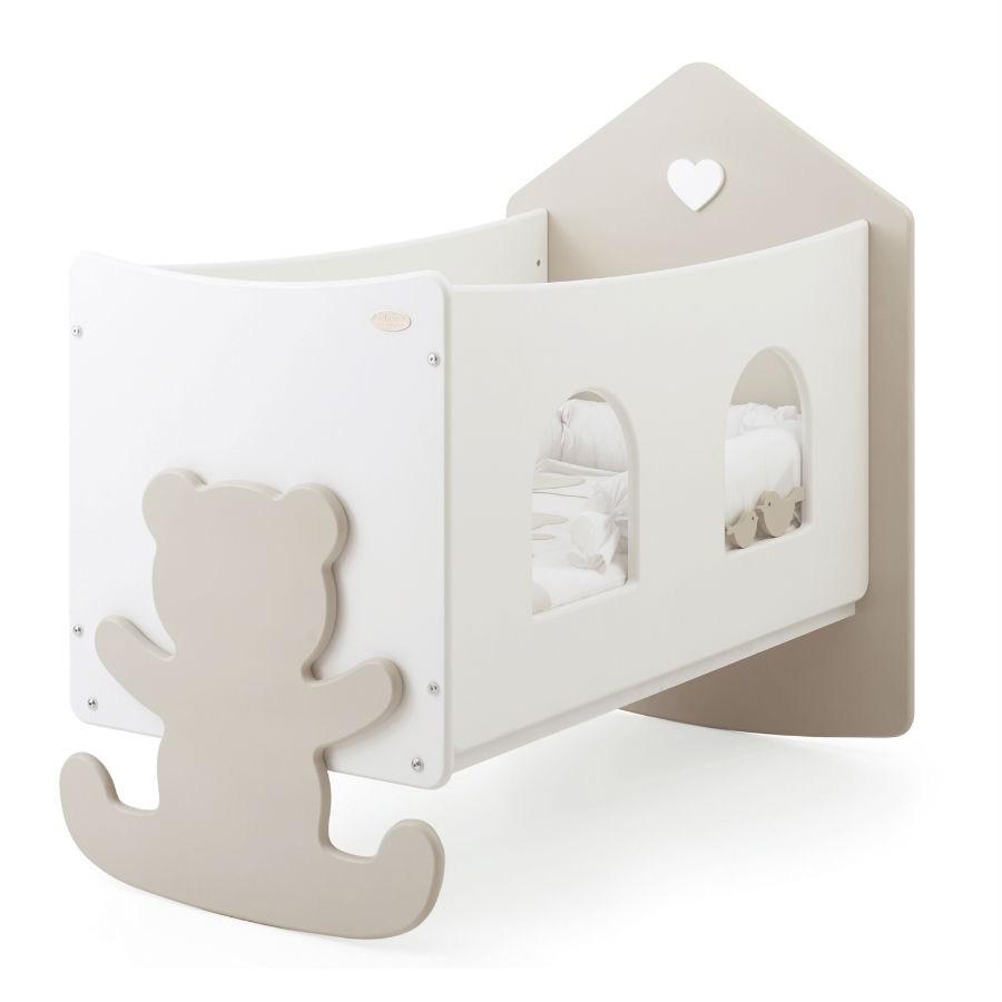 Baby Expert Кровать с окошечками коллекция La Casetta Top