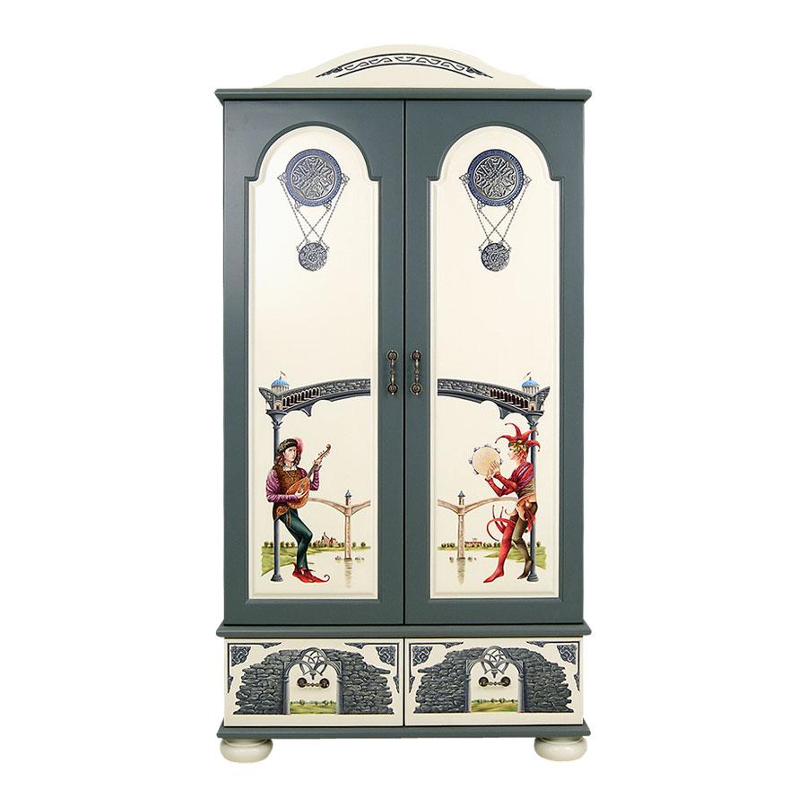 Шкаф для одежды Woodright Willie Winkie AlbionШкафы, стеллажи<br><br>