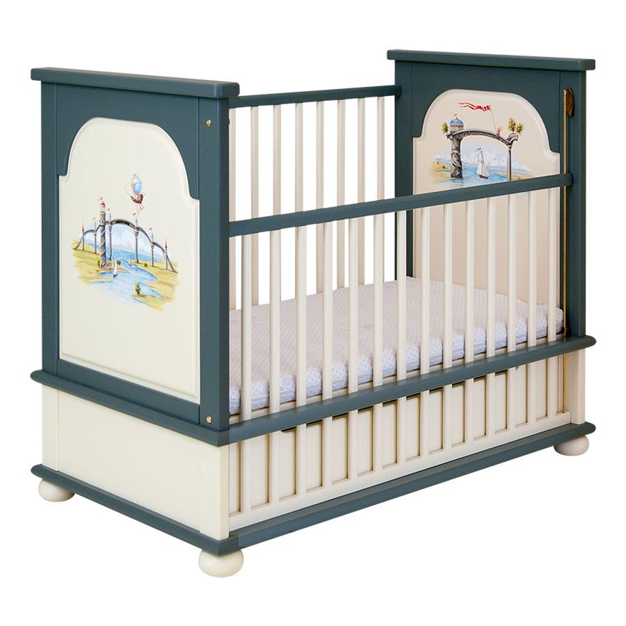 Кроватка для новорождённого Woodright Willie Winkie AlbionКровати для новорождённых<br><br>