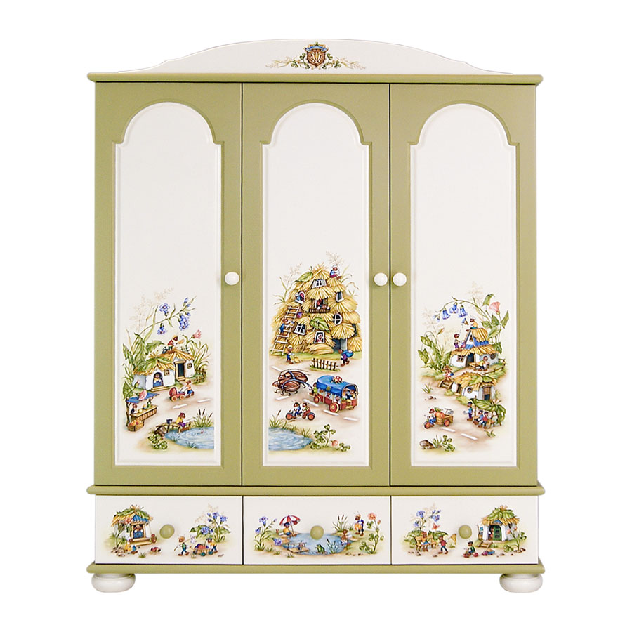Шкаф для одежды Woodright Willie Winkie Ants Village цветнойШкафы, стеллажи<br><br>