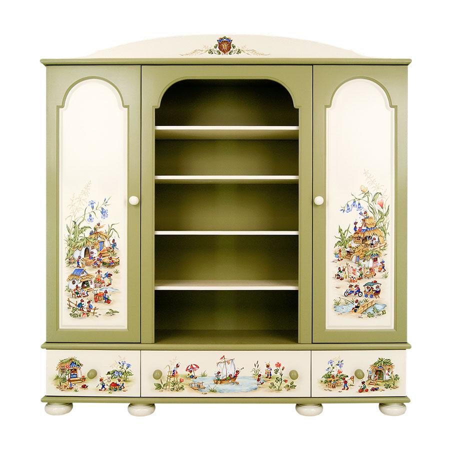 Шкаф комбинированный Woodright Willie Winkie AntS Village цветнойШкафы, стеллажи<br><br>