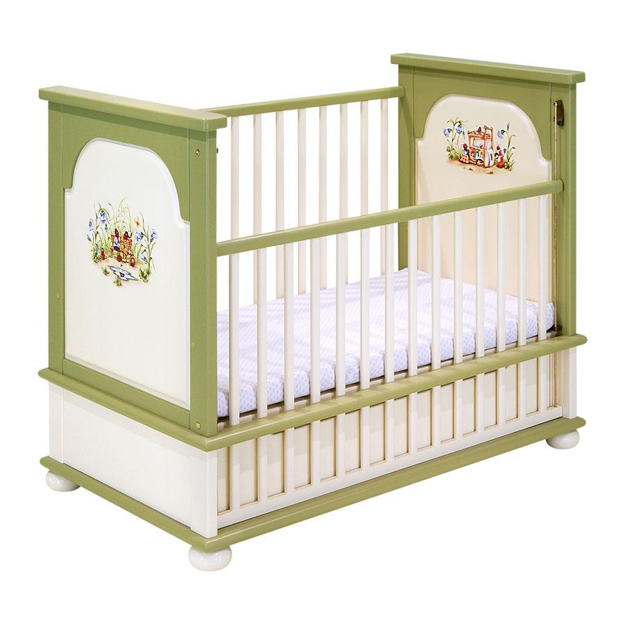 Кроватка для новорождённого Woodright Willie Winkie Ants VillageКровати для новорождённых<br><br>
