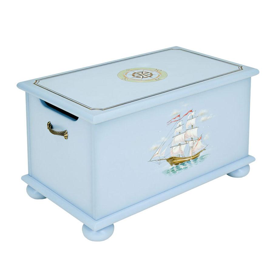 Ящик для игрушек Woodright Willie Winkie Brigantine bluЯщики для игрушек<br><br>