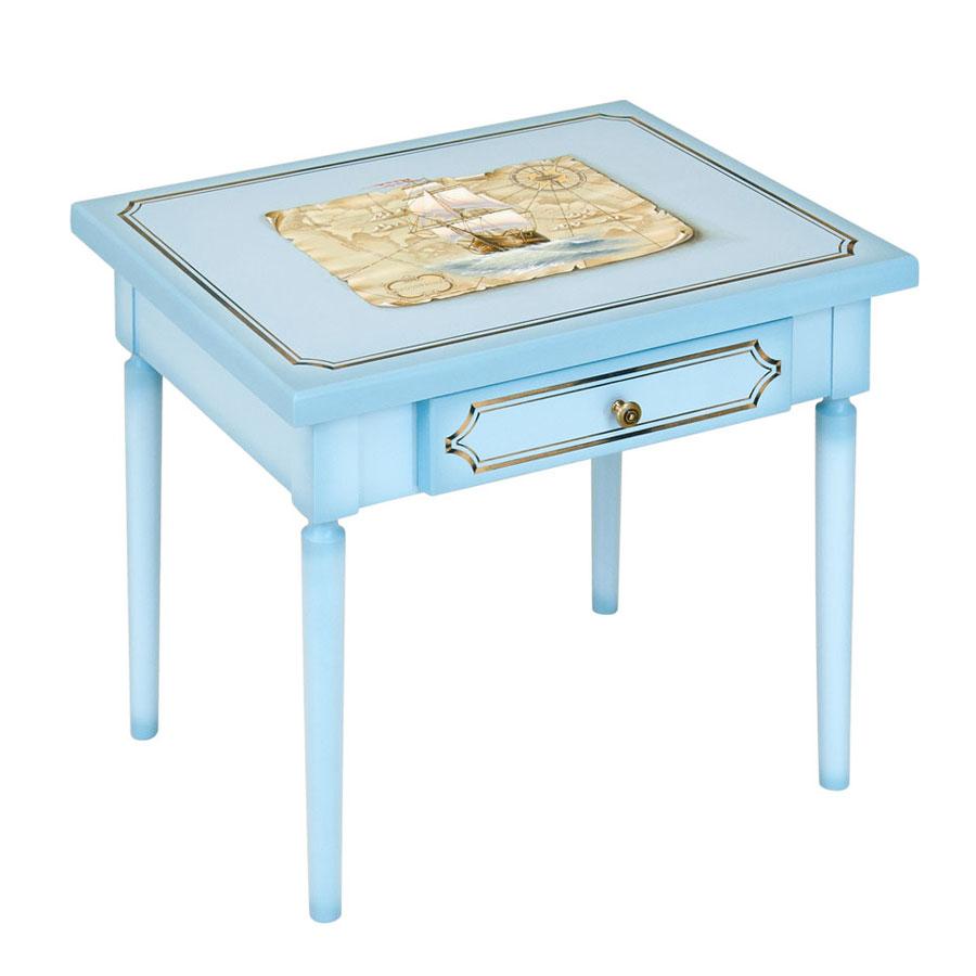 Столик детский Woodright Willie Winkie Brigantine blu