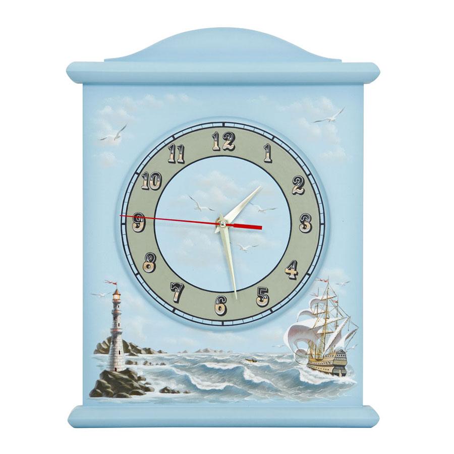 Часы настенные Woodright Willie Winkie Brigantine bluЧасы<br><br>