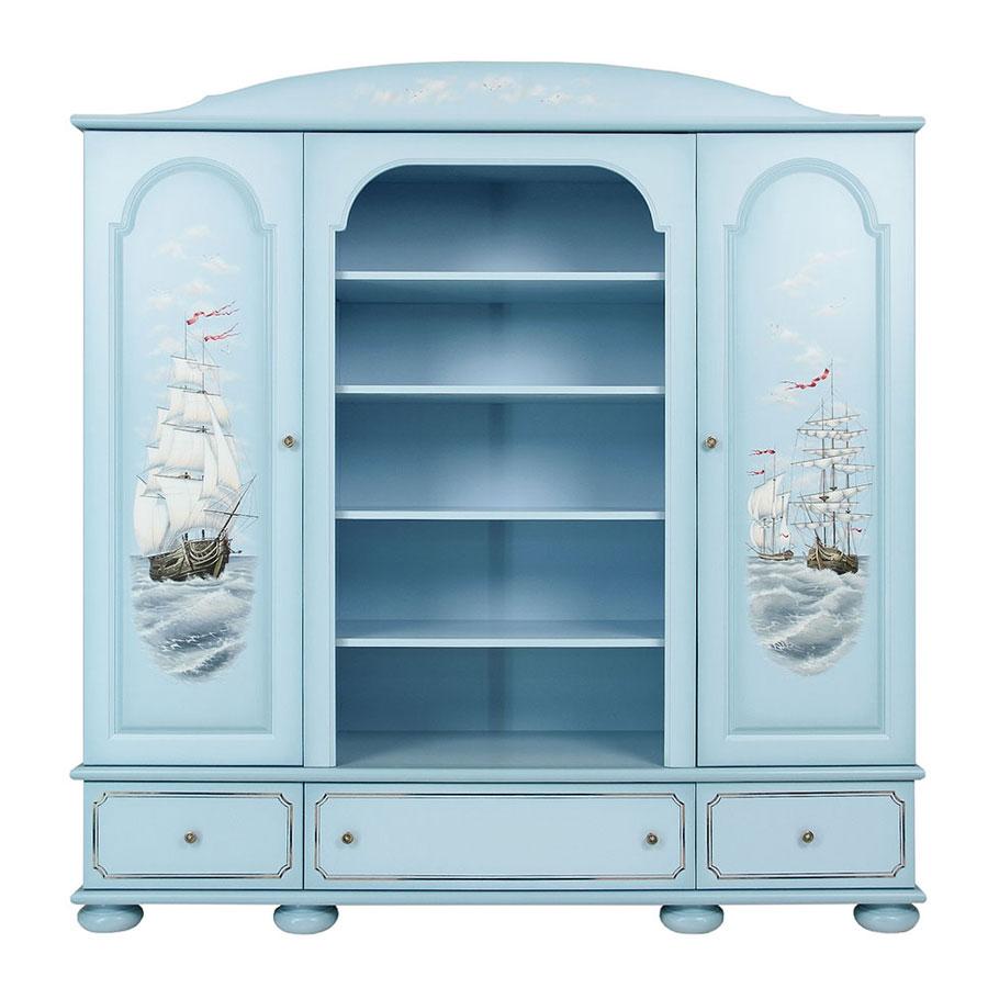 Шкаф комбинированный Woodright Willie Winkie Brigantine bluШкафы, стеллажи<br><br>