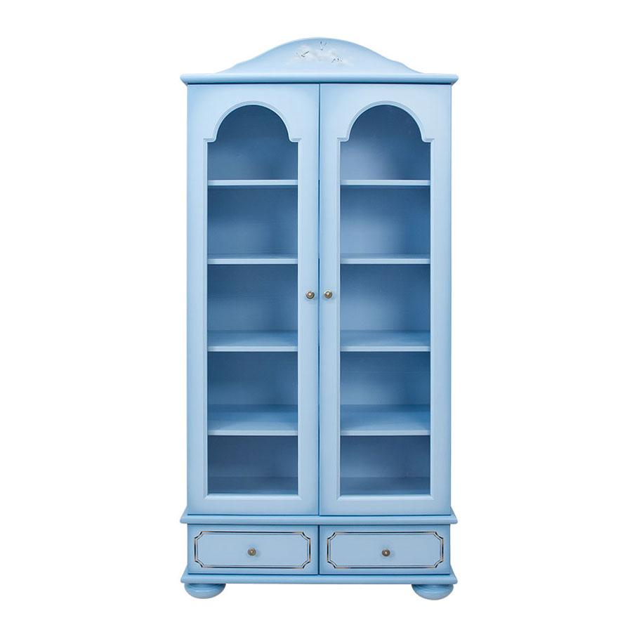 Купить Шкаф книжный со стеклом WOODRIGHT WILLIE WINKIE BRIGANTINE blu