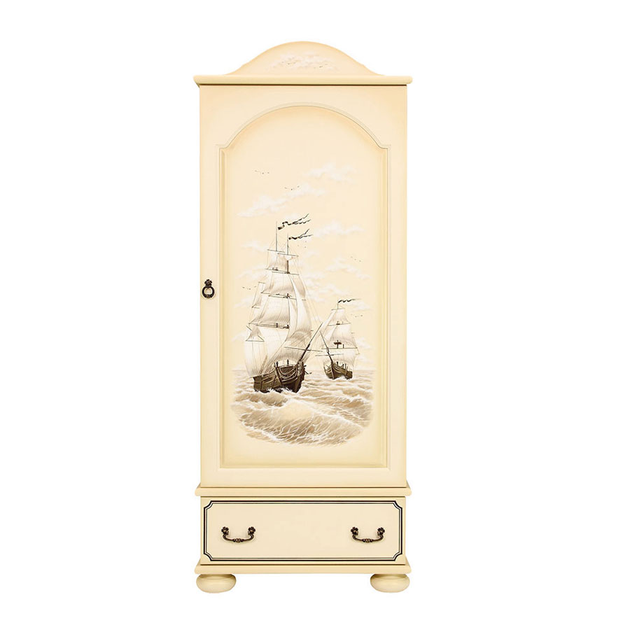 Шкаф для одежды Woodright Willie Winkie Brigantine ivory