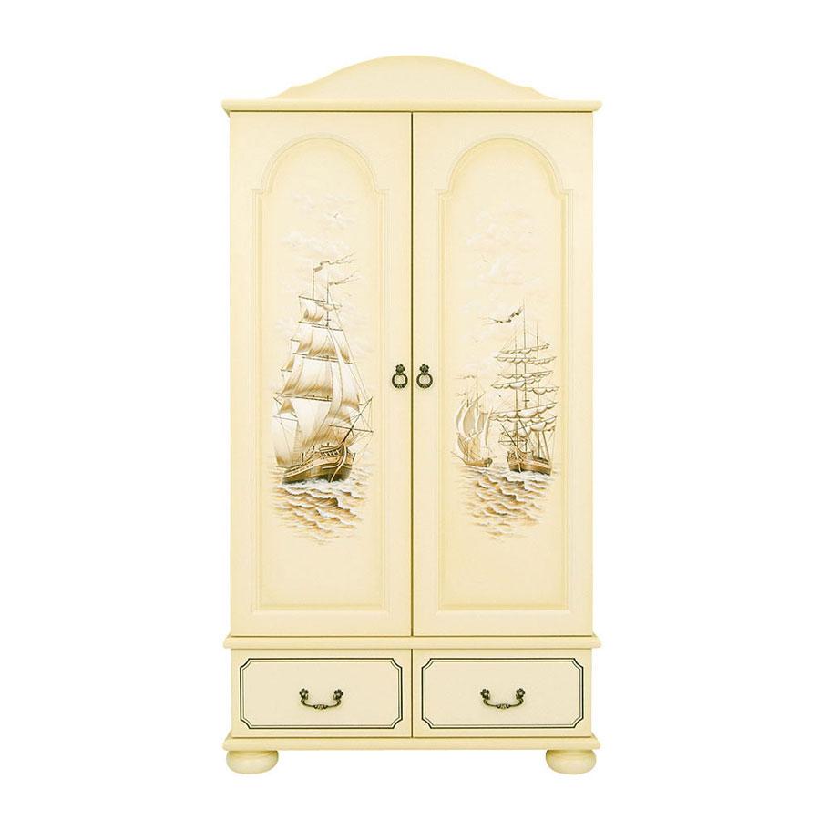 Шкаф для одежды Woodright Willie Winkie Brigantine ivory