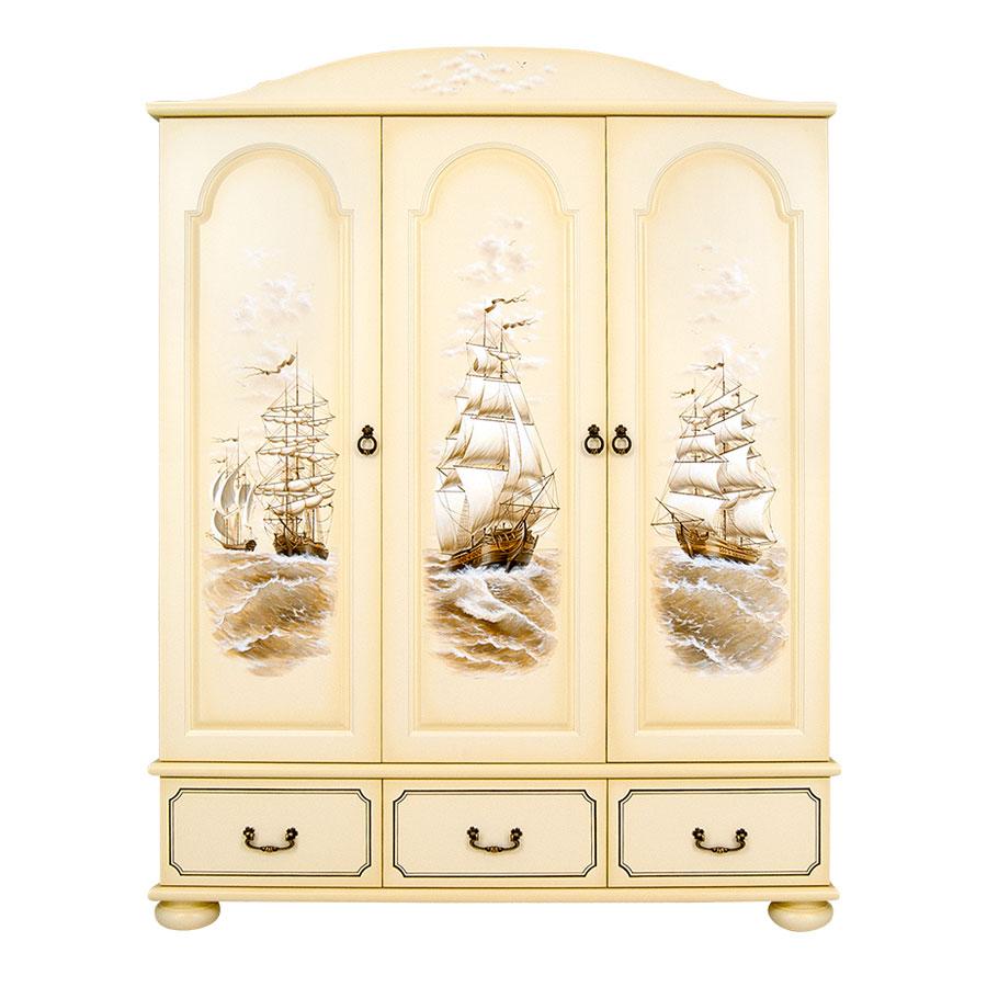 Шкаф для одежды Woodright Willie Winkie Brigantine ivoryШкафы, стеллажи<br><br>