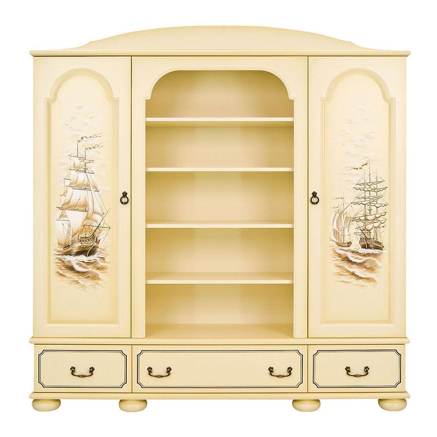 Шкаф комбинированный Woodright Willie Winkie Brigantine ivoryШкафы, стеллажи<br><br>