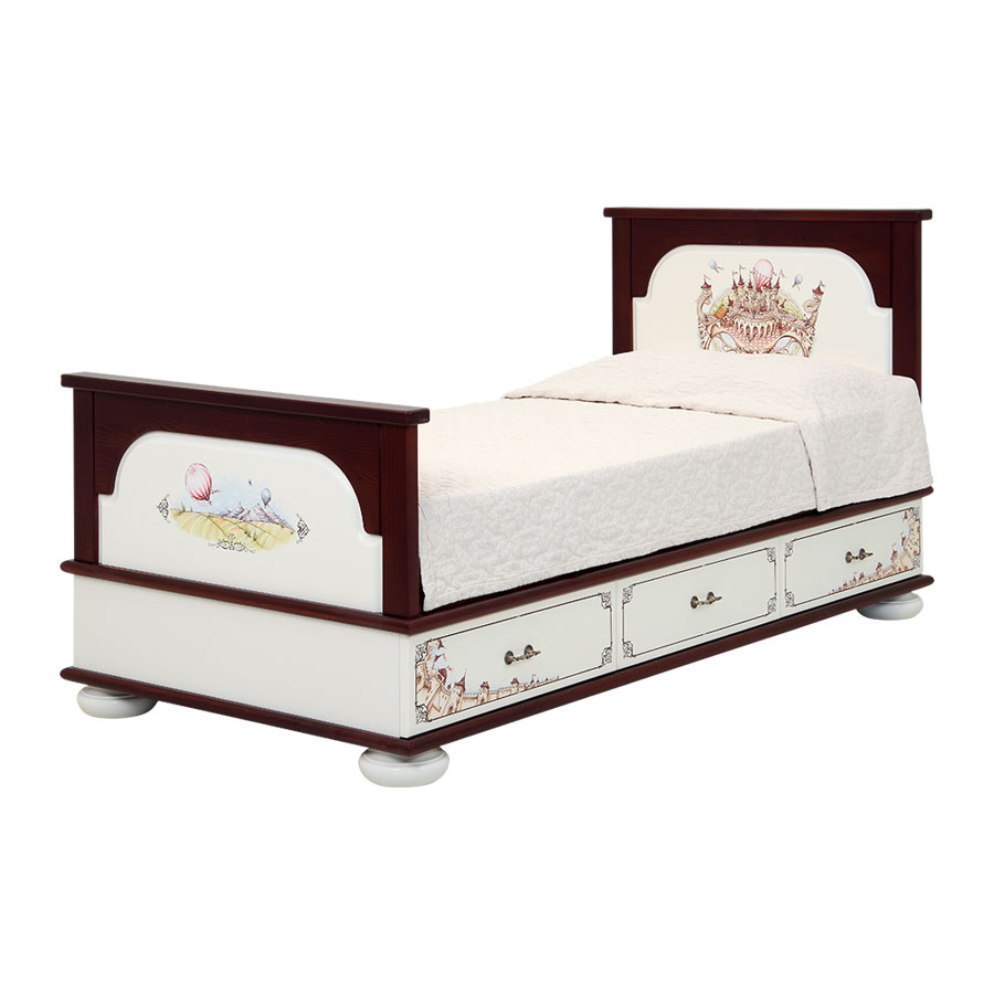 Подростковая кровать Woodright Willie Winkie Fantasy KingdomКровати для подростков<br><br>