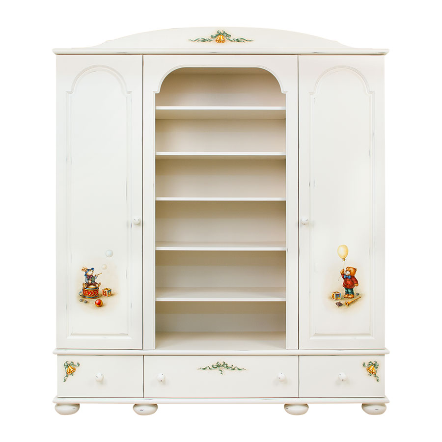 Шкаф комбинированный Woodright Willie Winkie Teddy Bear