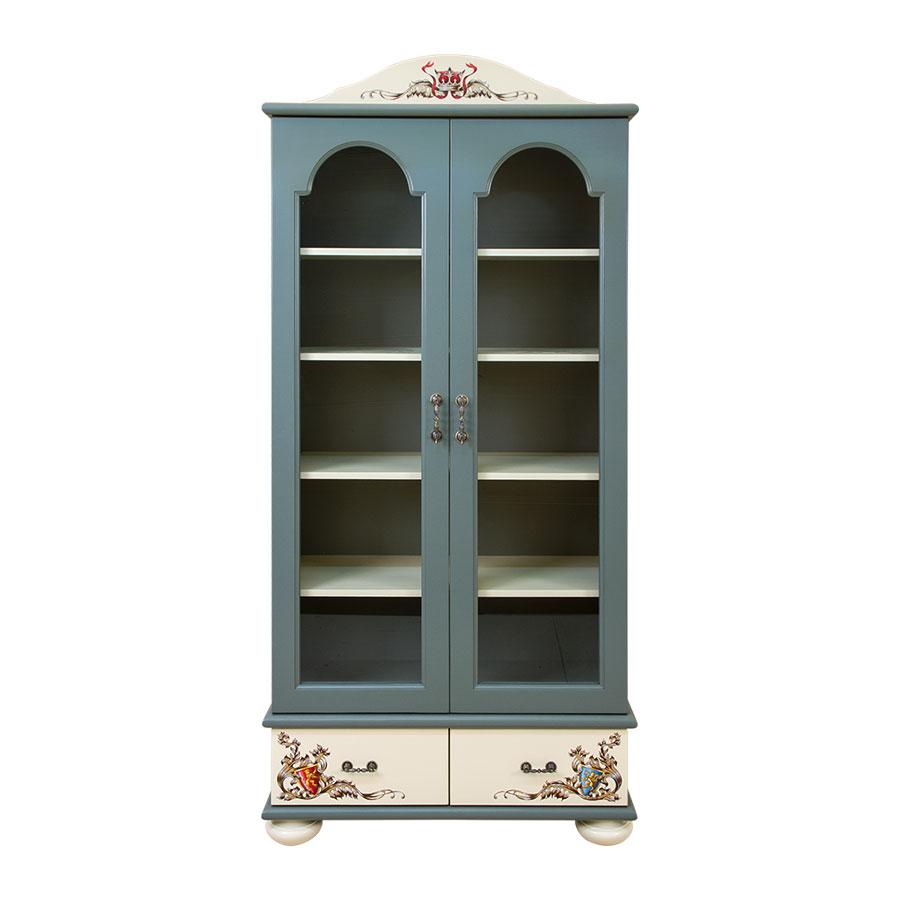 Купить Шкаф книжный со стеклом WOODRIGHT WILLIE WINKIE TEMPLARS