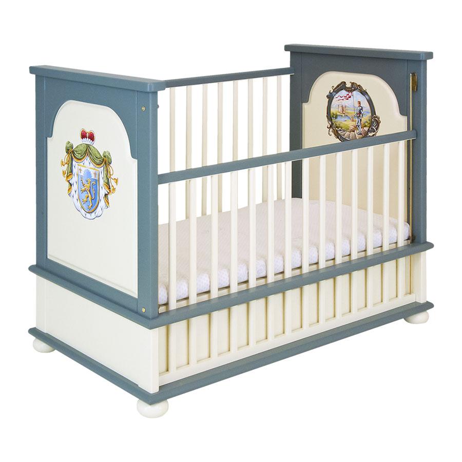 Кроватка для новорождённого Woodright Willie Winkie TemplarsКровати для новорождённых<br><br>