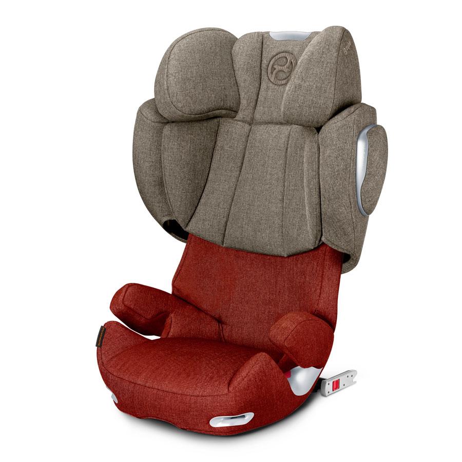 Кресло автомобильное Cybex Solution Q3-fix Plus Autumn Gold