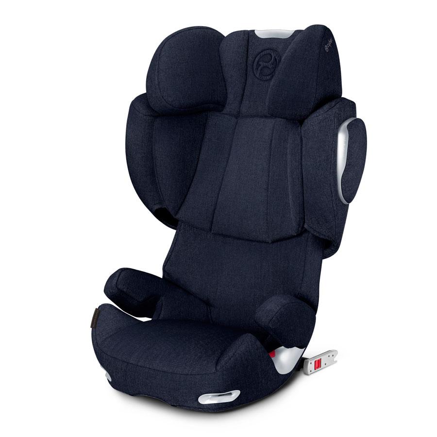 Кресло автомобильное Cybex Solution Q3-fix Plus Midnight Blue