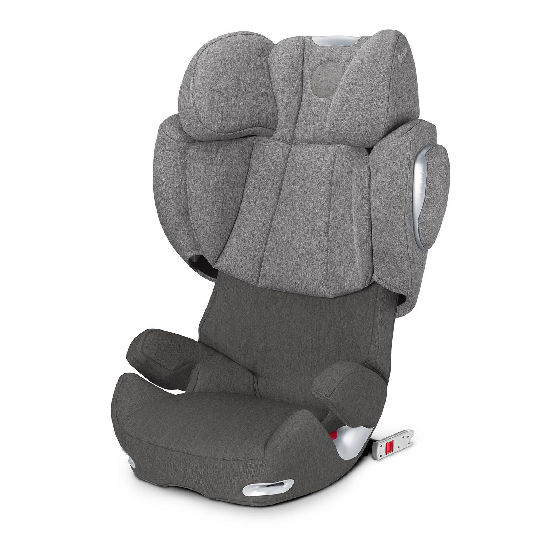 Кресло автомобильное Cybex Solution Q2-fix Plus Manhattan GreyАвтокресла 2-3 (15-36 кг)<br><br>