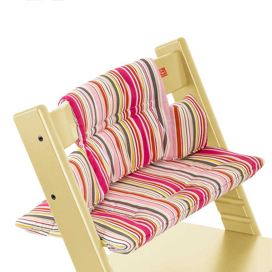 Подушка Stokke для стульчика Tripp Trapp Silhouette Candy StipeСтулья, табуретки, банкетки<br><br>