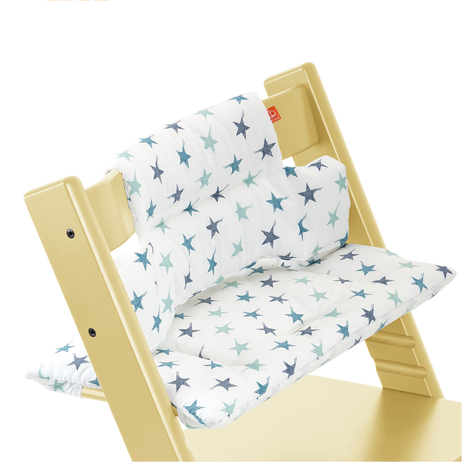Подушка Stokke для стульчика Tripp Trapp Aqua StarСтулья, табуретки, банкетки<br><br>