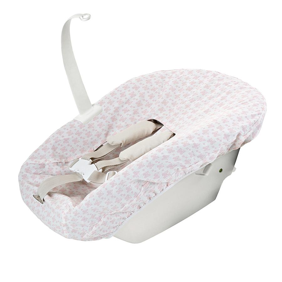 Чехол Stokke для сиденья на стульчик Tripp Trapp Pink, для новорожденногоСтулья, табуретки, банкетки<br><br>