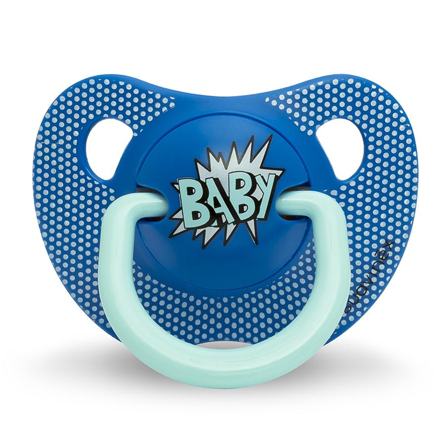 Пустышка Suavinex от 0 до 6мес Baby Art  c анатомической силиконовой соскойСоски и пустышки<br><br>