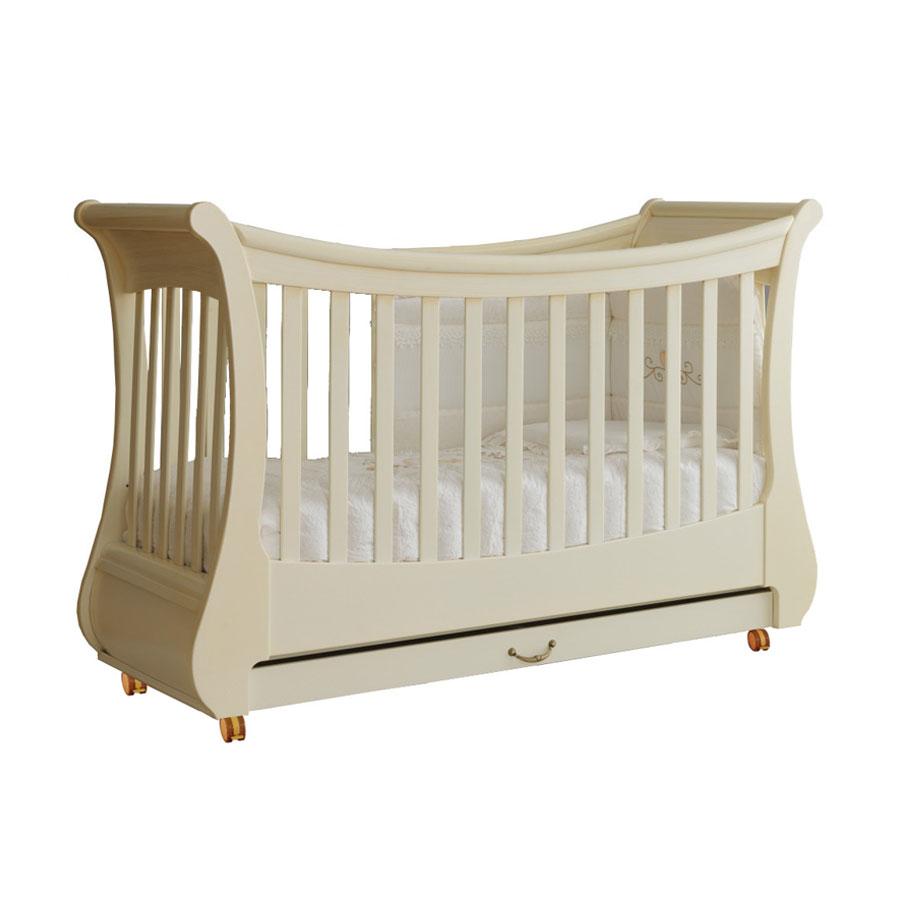 Кровать коллекция Tulip (цвет слоновая кость)Кровати для новорождённых<br><br>