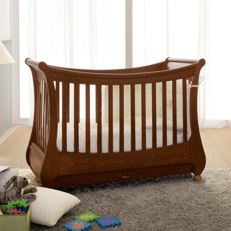 Кровать коллекция Tulip (цвет орех)Кровати для новорождённых<br><br>