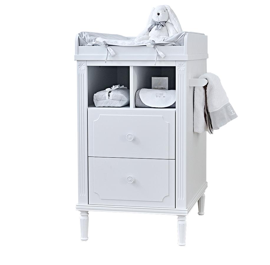 Theophile & Patachou Стол для пеленания коллекция Louis, белый