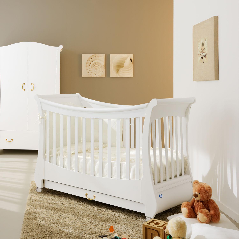 Кровать коллекция Tulip (цвет белый)Кровати для новорождённых<br><br>