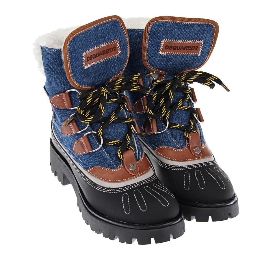Ботинки Dsquared2 для мальчиковБотинки, полусапоги зимние<br><br>