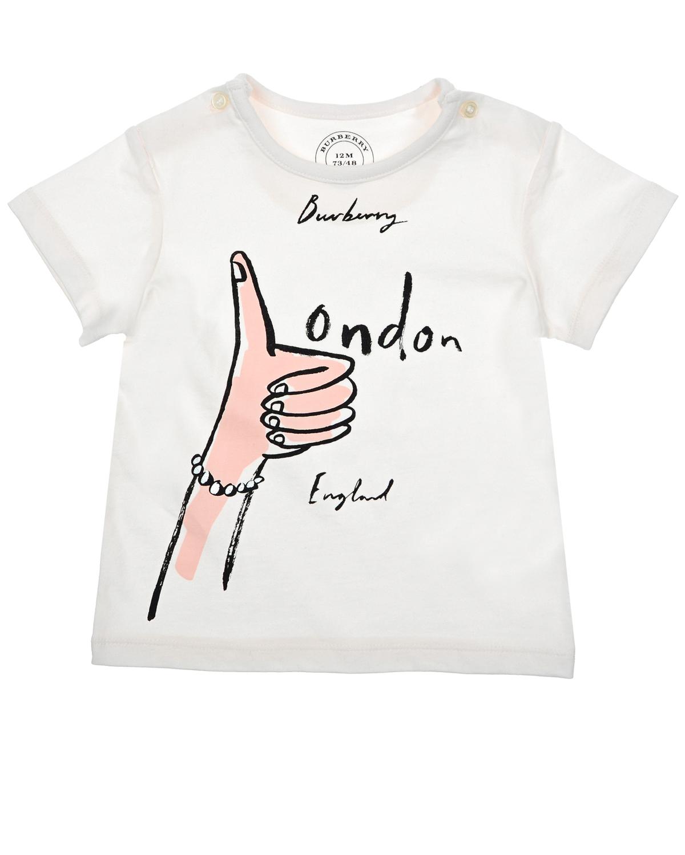 Футболка c принтом London IconsФутболки, Топы, Майки<br><br>