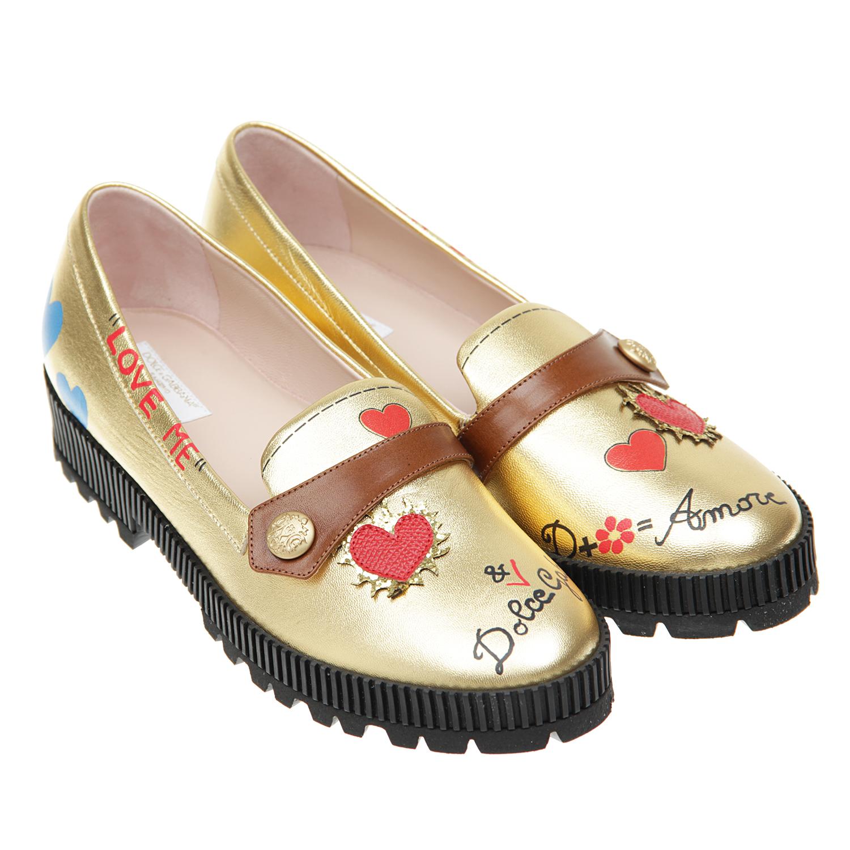 Лоферы Dolce&amp;GabbanaМокасины, Слипоны<br><br>