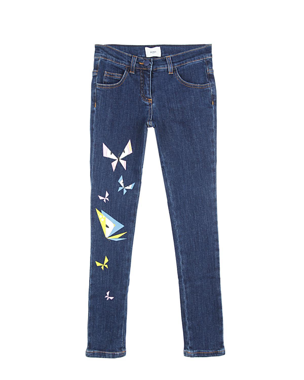 Брюки джинсовые FendiДжинсы<br><br>
