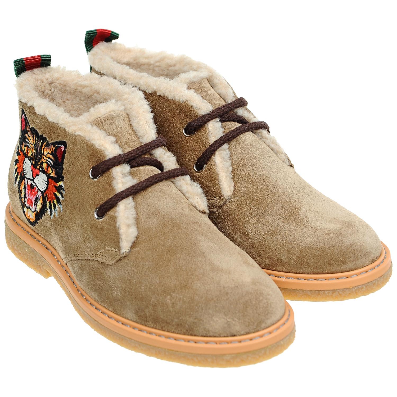 Ботинки GucciБотинки, полусапоги зимние<br><br>