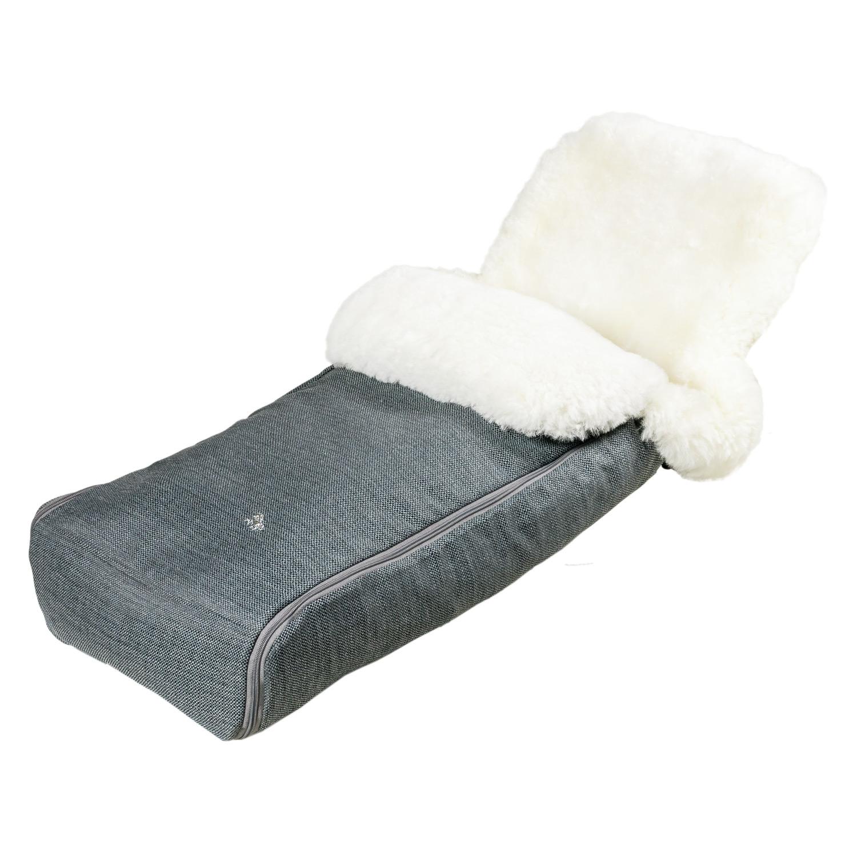 Купить Конверт Hesba Premium Welss натуральная овчина, белый мех