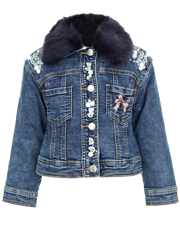 Куртка джинсовая MonnalisaДжинсовые куртки и жилеты<br><br>